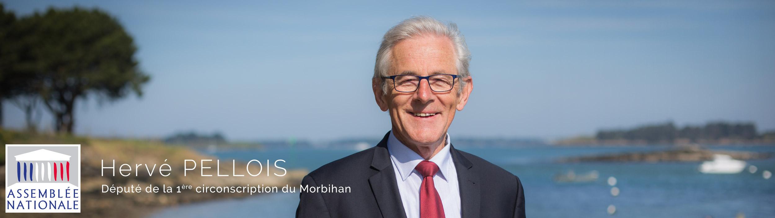 Hervé Pellois, député de la première circonscription du Morbihan
